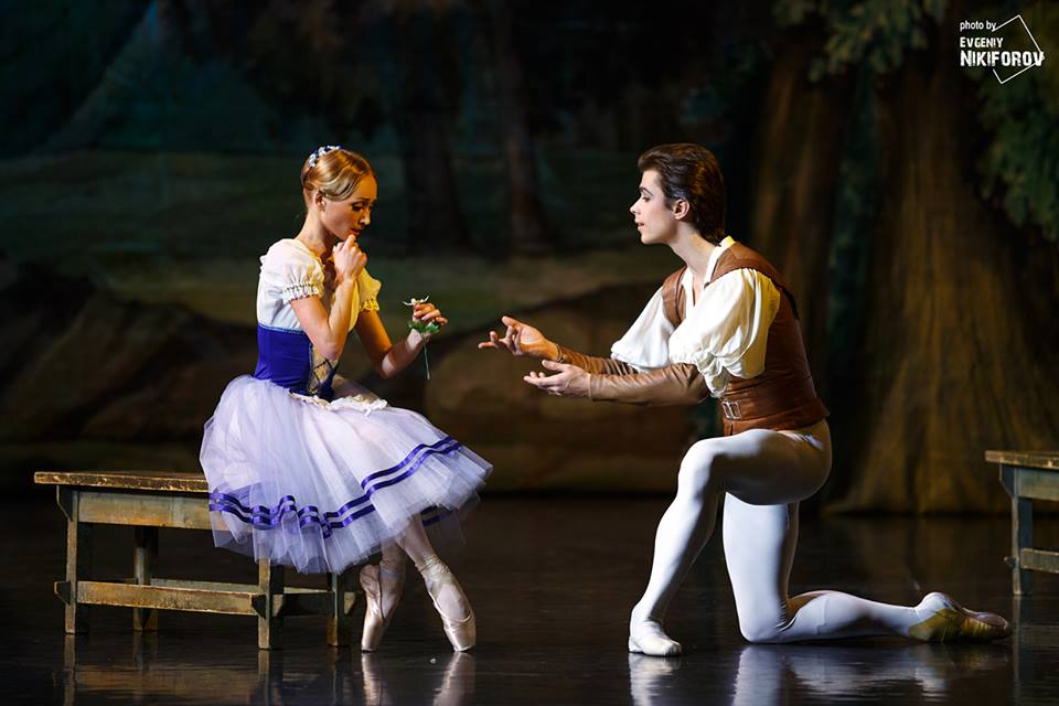 artem ovcharenko gave a superb performance in giselle at the xiii
